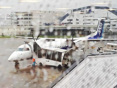 伊丹空港から出発