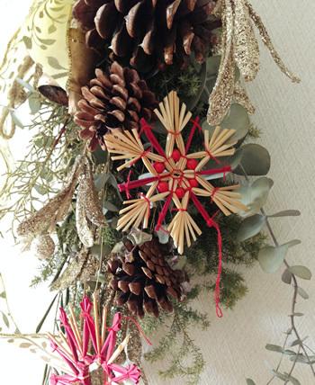 HAKUHU クリスマスのスワッグ