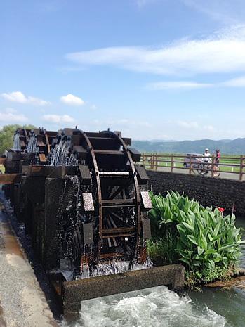 朝倉の三連水車