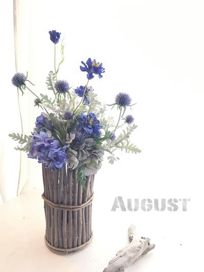 HAKUHU 枝の器と夏の花束