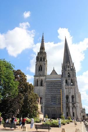 世界遺産「シャルトル大聖堂」