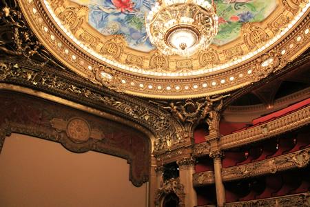 オペラ・ガルニエのステージ
