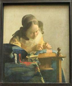 フェルメールの「レースを編む女」