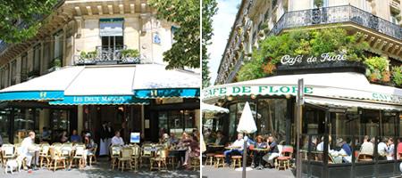 ドゥ・マゴとカフェ・ドゥ・フロール