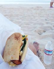 The Deliのサンドイッチ