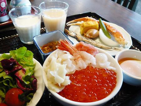ラビスタ函館ベイの朝食バイキング