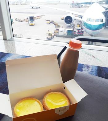 香港空港の蛋撻王