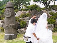 花嫁とトルハルバン