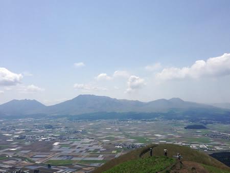 阿蘇 大観峰より
