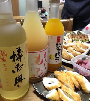 球磨焼酎と奈良のお酒
