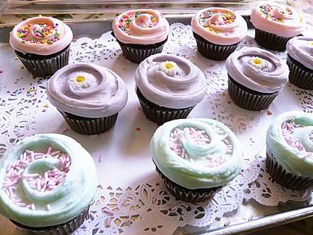 マグノリアベーカリーのカップケーキ達