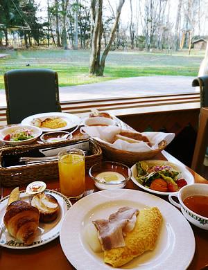 北海道ホテルの朝食