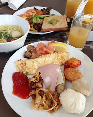 マリーナベイ・サンズの朝食