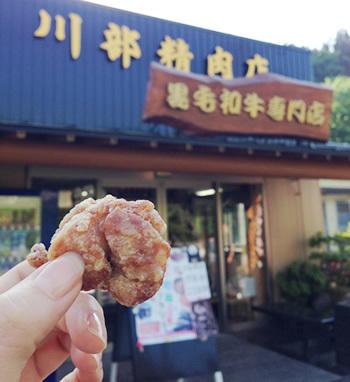川部精肉店の唐揚げ