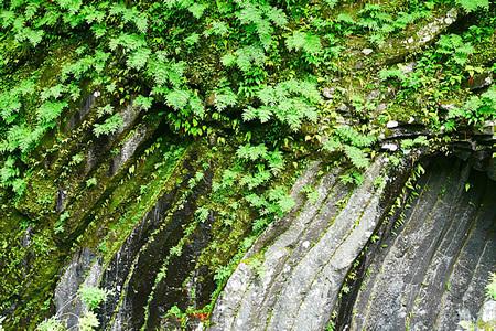 高千穂峡の岩壁