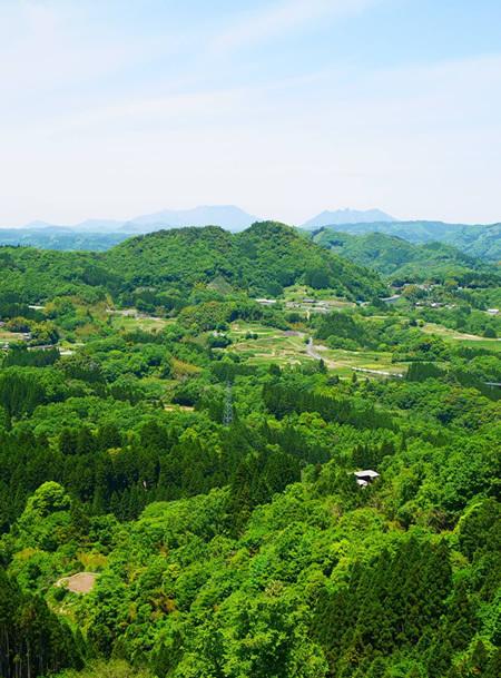 国見ヶ丘からの眺め